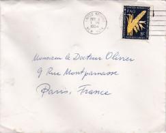 LSC  DEPART NEW YORK    NATIONS UNIES  (voir Cachet) - Lettres & Documents