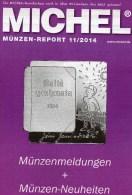 MICHEL Briefmarken Rundschau 11/2014 Neu 6€ New Stamp Of The World Catalogue And Magacine Of Germany ISBN4 194371 105009 - Specialized Literature