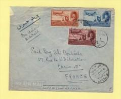 Le Caire - Par Avion Destination France - Poste Aérienne