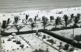 60s REAL PHOTO POSTCARD SIZE NOVO REDONDO SUMBE ANGOLA AFRICA CARTE POSTALE CARS CORTINA - Mozambique