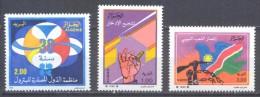 Algérie YT N°983/985 O.P.E.P. - Epargne - Peuple Namibien Neuf ** - Algeria (1962-...)