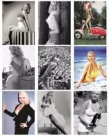 Sexy JAYNE MANSFIELD Actress PIN UP Postcard SET - Publisher RWP 2003 (01) - Artiesten