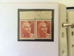 FRANCE: Collection Timbres Marianne De Gandon Dt Variété, Lettres & Coins Datés - France