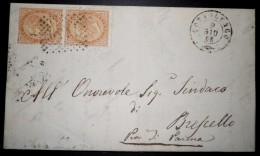 ANNULLI NUMERALI LOMBARDIA: NUMERALE GOTTOLENGO Brescia - 1861-78 Vittorio Emanuele II