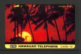 Hawaii GTE - 1993 10 Unit - Sunset - HAW-50 - Mint - Hawaii