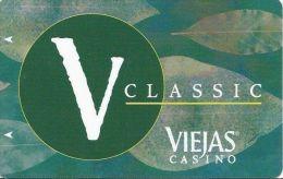 Viejas Casino Alpine CA V Classic Slot Card @2008 - Casino Cards