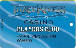 Three Rivers Casino Florence OR Players Club Card - Casino Cards