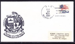 "USA 1966 USS ""Glacier"" (AGB-4)  Operation Deepfreeze Cover To Oregon - United States"