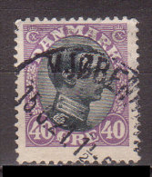 Dänemark , 1918 , Mi.Nr. 104 A B O / Used - Used Stamps