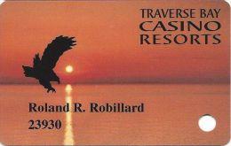 Traverse Bay Casino MI Slot Card (Printed) - Casino Cards