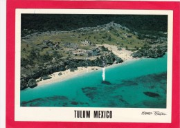 Tulum,Mexico.Posted With Stamp, L30. - Mexico