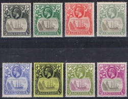 K 814 ASCENSION ISLAND  X  YVERT NRS 10/16 ZIE SCAN - Timbres