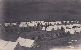 MILITARIA---REGIMENTS---chasseurs Alpins Au Bivouac---voir 2 Scans - Régiments