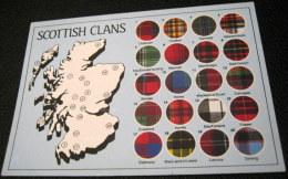 United Kingdom Scotland Scottish Clans Tartan PSO 25953 DRG J Arthur Dixon - Unused - Schottland