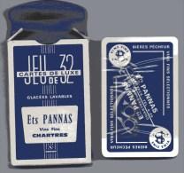 Jeu De 32 Cartes Publicitaire Ets Pannas à Chartres, Vins Fins. (Années 50-60) - Other