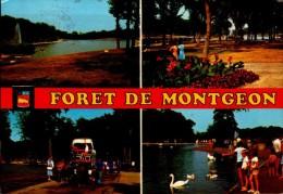 76-LE HAVRE..FORET DE MONTGEON..4 VUES...CPM ANIMEE - Le Havre