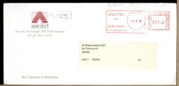 ITALIA - ANCITEL - Servizi E Tecnologie Informazione ENTI LOCALI - Affrancature Meccaniche Rosse (EMA)