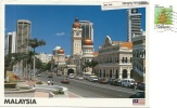 MALAYSIA  MALESIA  KUALA LUMPUR  Sultan Abdul Samad Building   Auto   Nice Stamp - Malesia