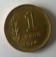 ARGENTINE -  1 Peso 1974 - TTB - - Argentine