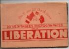 Guerre 39-45 Très Beau Carnet De 20 Photos (format CPSM) De La Libération De Paris (TOP) - Weltkrieg 1939-45