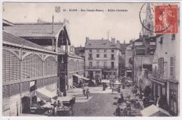 Dijon - Rue Claude-Ramey - Halles Centrales - Dijon