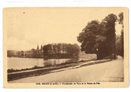 Melun - Promenades De Vaux Et La Pointe De L' Ile - Melun