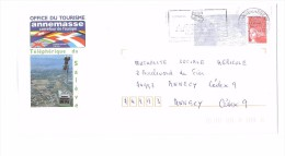 Lettre PAP Pret A Poster Marianne De Luquet 74 Annemasse Telepherique Du Saleve N°899 Lot 514 746 - Entiers Postaux