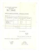 Caserne De BRESSOUX - Facture Du Salon De Coiffure - Armée Belge (b179) - Factures & Documents Commerciaux