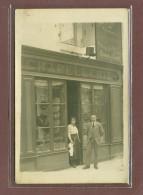 CHATEAUNEUF SUR CHARENTE (16) - BELLE CARTE PHOTO - CHAPELLERIE MARGINOT - Chateauneuf Sur Charente
