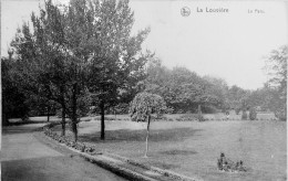 La Louvière Le Parc En 1913 - La Louvière