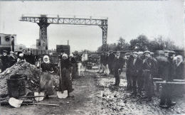 La Louvière Houdeng Rivage En 1917 - La Louvière