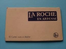 LA ROCHE EN ARDENNE ( Therer-Ledent ) Carnet 10 Kaarten ( Zie Foto´s Voor Details ) !! - La-Roche-en-Ardenne