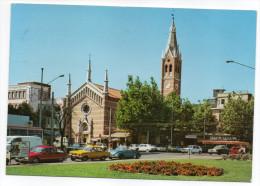 Italie--RIMINI - Piazza Tripoli--église- (voitures Dont Volkswagen Coupée) ,cpsm 15 X 10 N°C 68  éd Cesari - Rimini
