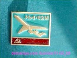 Soviet Airplane IL-62 / Soviet Badge _01-03_1098_09 - Vliegtuigen