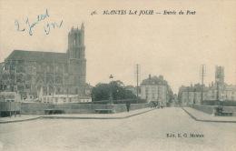 MANTES LA JOLIE - Entrée Du Pont - Mantes La Jolie
