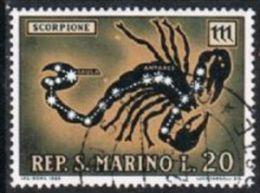 San Marino SG884 1970 Zodiac 20l Good/fine Used - San Marino