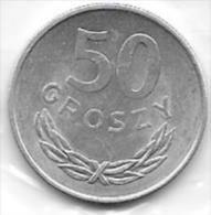 50 Groszy Alu 1977 Clas D 136 - Pologne