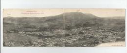 SAINT DIE (88)  8808 CARTE DOUBLE  VUE PANORAMIQUE GENERALE DE TOUTE LA VILLE 1916 - Saint Die