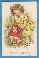 Enfant Poupée Mådchen Puppe Little Girl Doll Sign.Zandrino - Zandrino