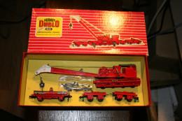 HO, OO, HORNBY DUBLO, Grue De Levage Ref 4620 + Boite D'origine - Wagons Marchandises