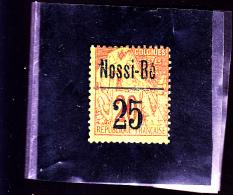 NOSSI-BE : Y&T : 19* - Nossi-Bé (1889-1901)