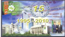 2010. Turkmenistan, 15 Of Neutrality, S/s, Mint/** - Turkménistan