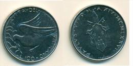 1976 Vatican 100 Lire  Coin - Vatikan