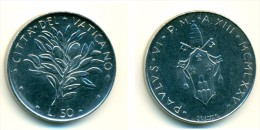 1975 Vatican 50 Lire  Coin - Vaticano
