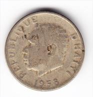 1958 Haiti 5 Centimes Coin - Haïti