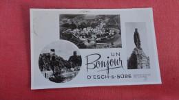 RPPC Un Bonjour D'Esch-s-Sure    =2132 - Unclassified