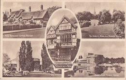 Aw - Cpa Greetings From STRATFORD On AVON - Stratford Upon Avon