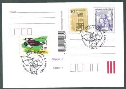 3149 Hungary SPM Nature Animal Mammal Bat Bird Unaddressed - Briefmarken