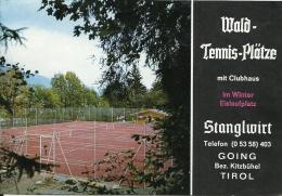 Österreich Going Tirol / Stanglwirt Wald Tennis Plätze / Stangl Alm / Musique Muziek Music Accordeon - Dépliants Touristiques