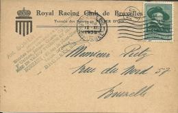 België Belgique 1930 / Royal Racing Club De Bruxelles / Section De Hockey / Rubens - Lettres & Documents